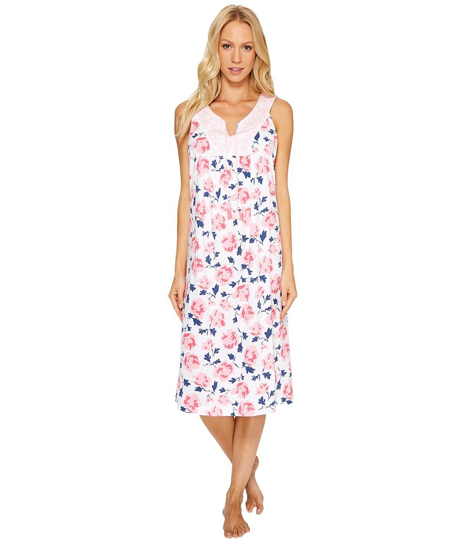 Carole Hochman - Jersey Printed Ballet Gown (Modern Floral) Women's Pajama