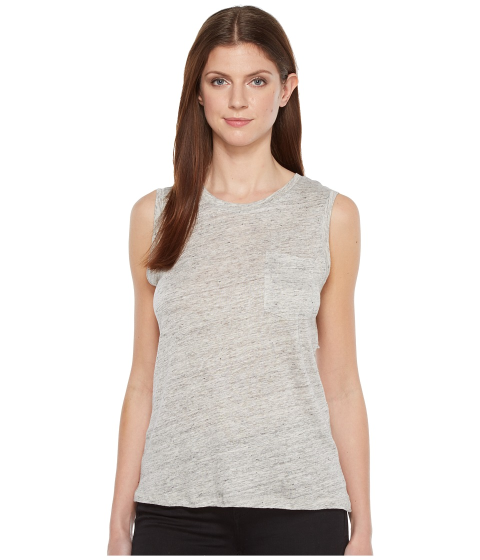 Blank NYC - Sleeveless Tank Top in Embrace The Gray (Embrace The Gray) Women's Sleeveless