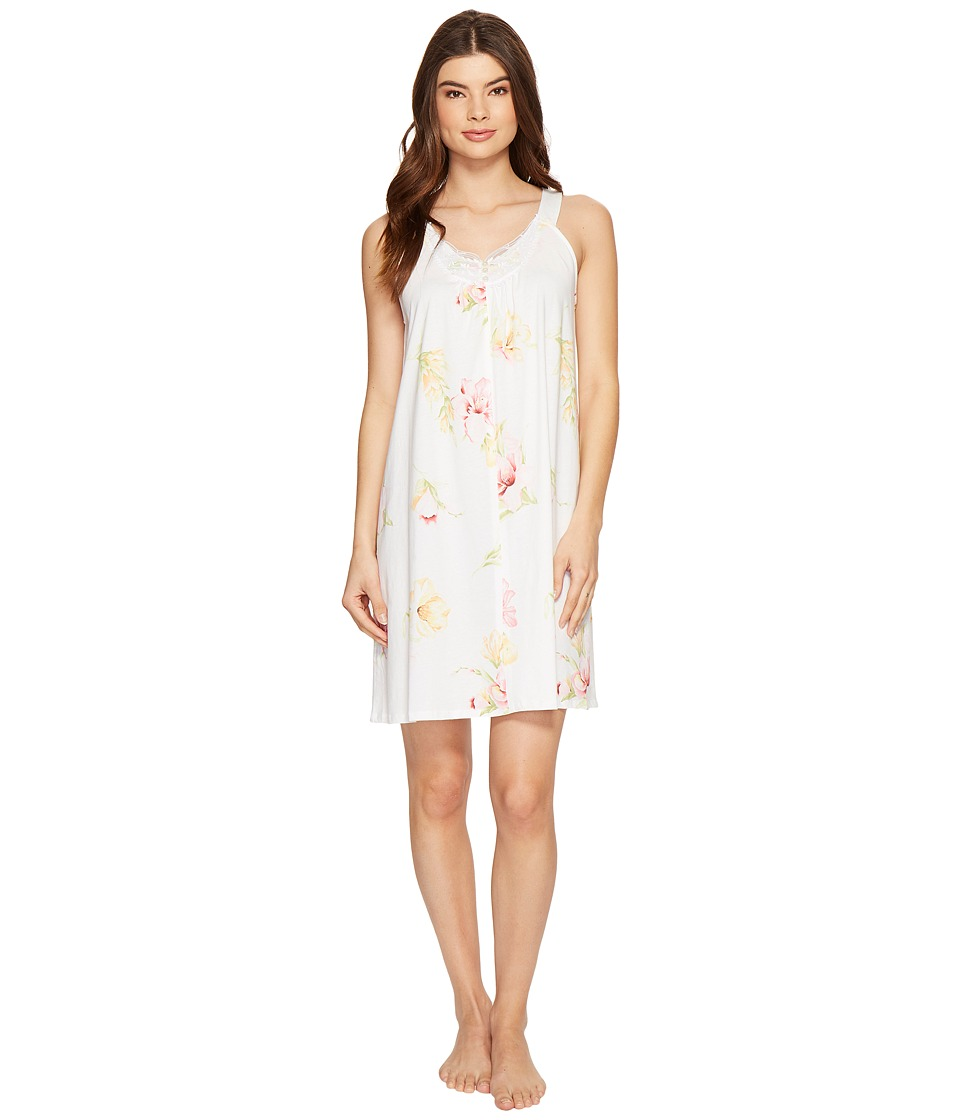 Carole Hochman - Floral Knit Chemise (Lilies) Women's Pajama