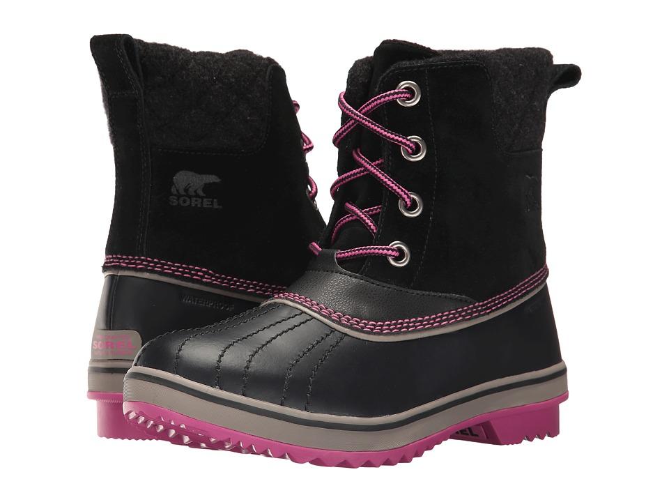 SOREL Kids Slimpack II Lace (Little Kid/Big Kid) (Black/Kettle 1) Girls Shoes
