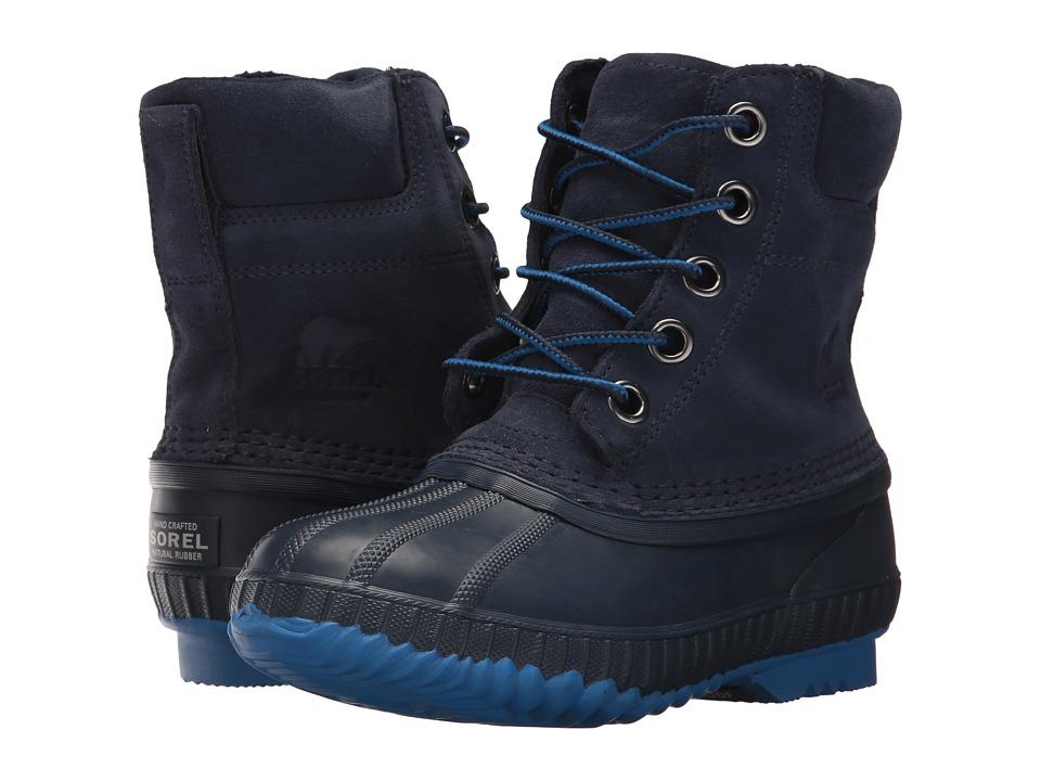 SOREL Kids Cheyanne II Lace (Little Kid/Big Kid) (Nocturnal/Collegiate Navy) Boys Shoes