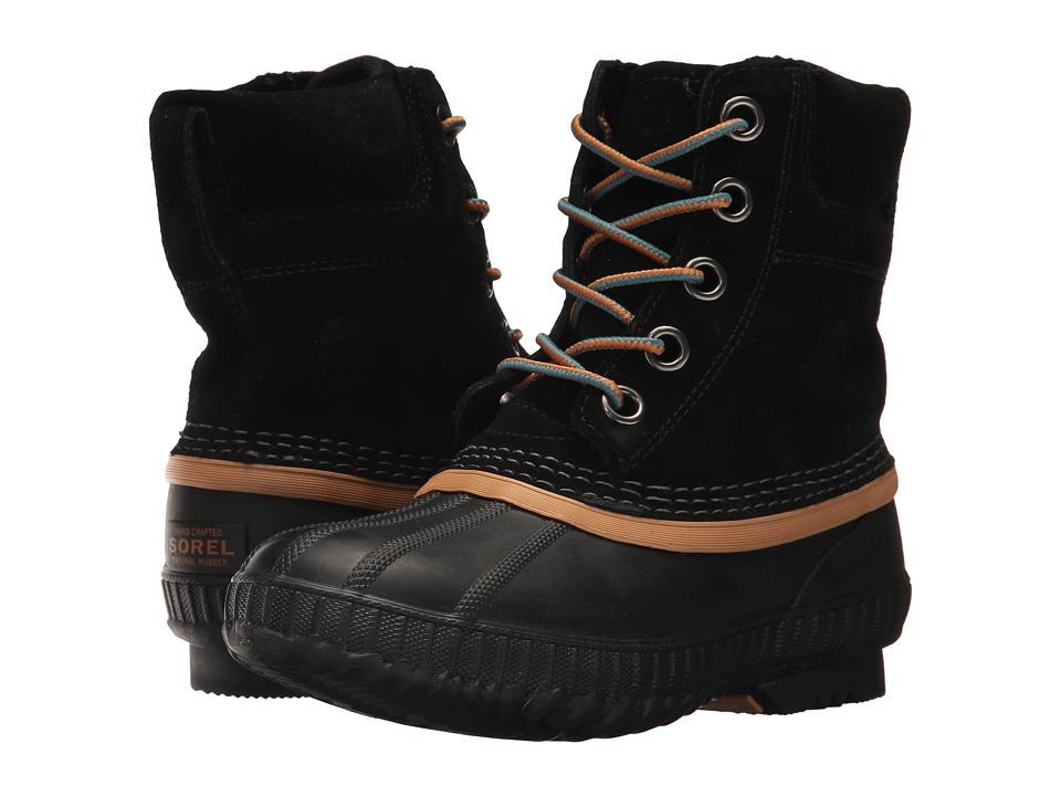 SOREL Kids Cheyanne II Lace (Little Kid/Big Kid) (Black) Boys Shoes
