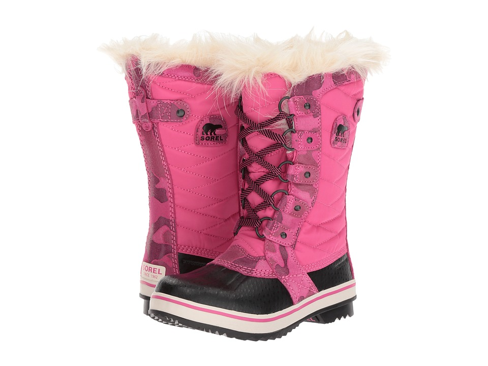SOREL Kids Tofino II (Little Kid/Big Kid) (Pink Ice/Black) Girls Shoes