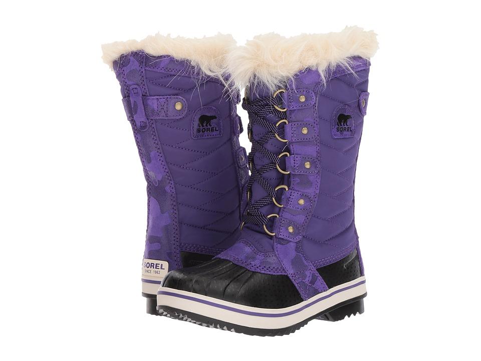SOREL Kids Tofino II (Little Kid/Big Kid) (Emperor/Black) Girls Shoes