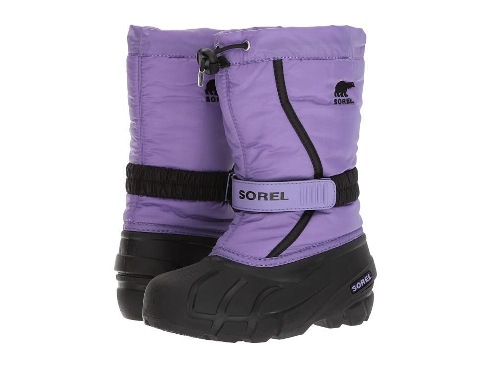 SOREL Kids Flurry (Toddler/Little Kid/Big Kid) (Paisley Purple) Girls Shoes