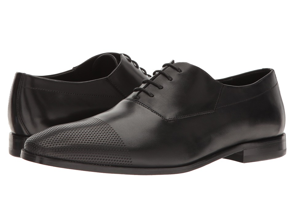 BOSS Hugo Boss - Square Oxford by HUGO (Black 1) Men's Lace up casual Shoes