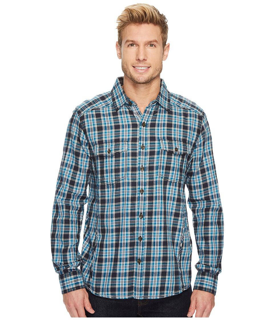 Ecoths Dax Long Sleeve Shirt (Black) Men