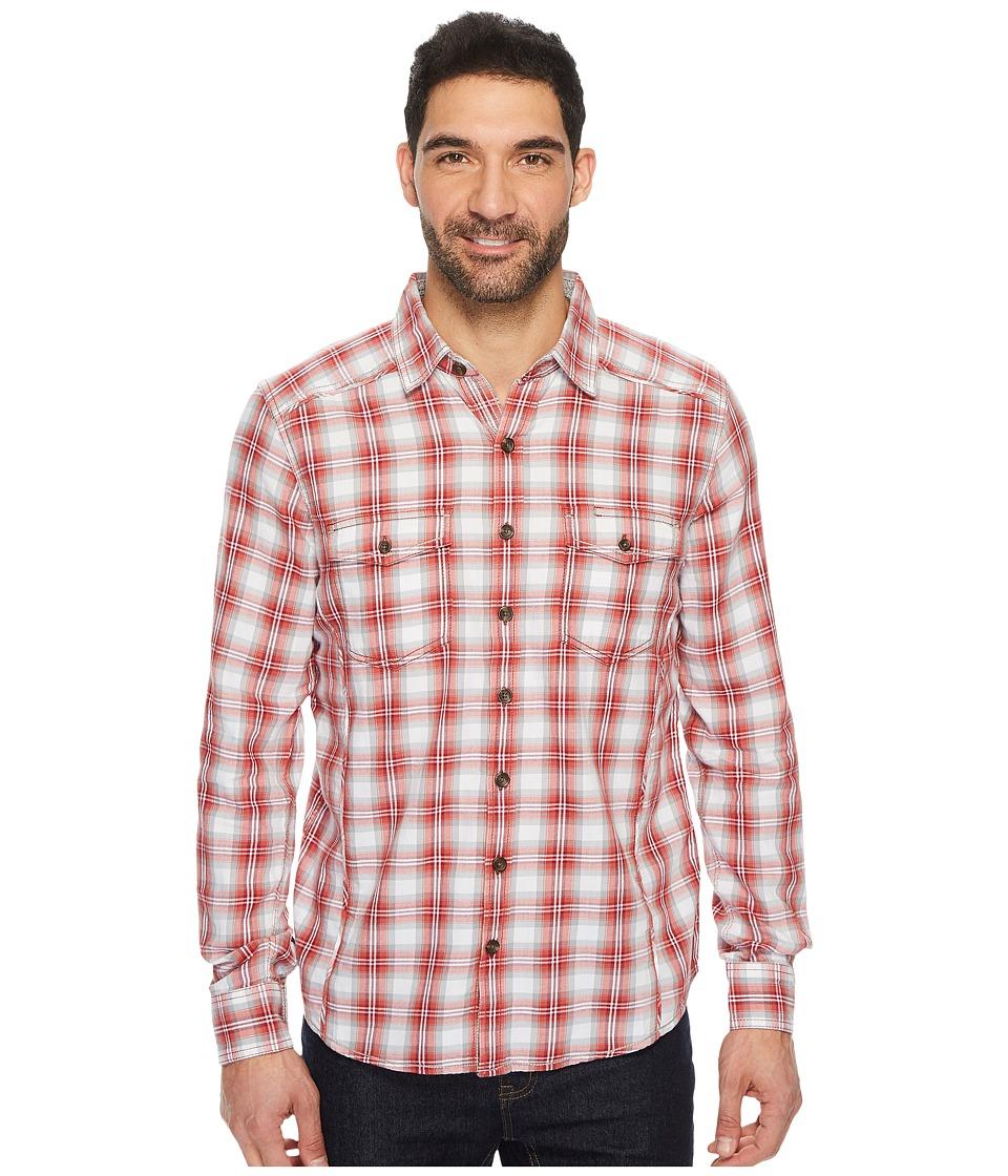 Ecoths Dax Long Sleeve Shirt (Biking Red (Prior Season)) Men
