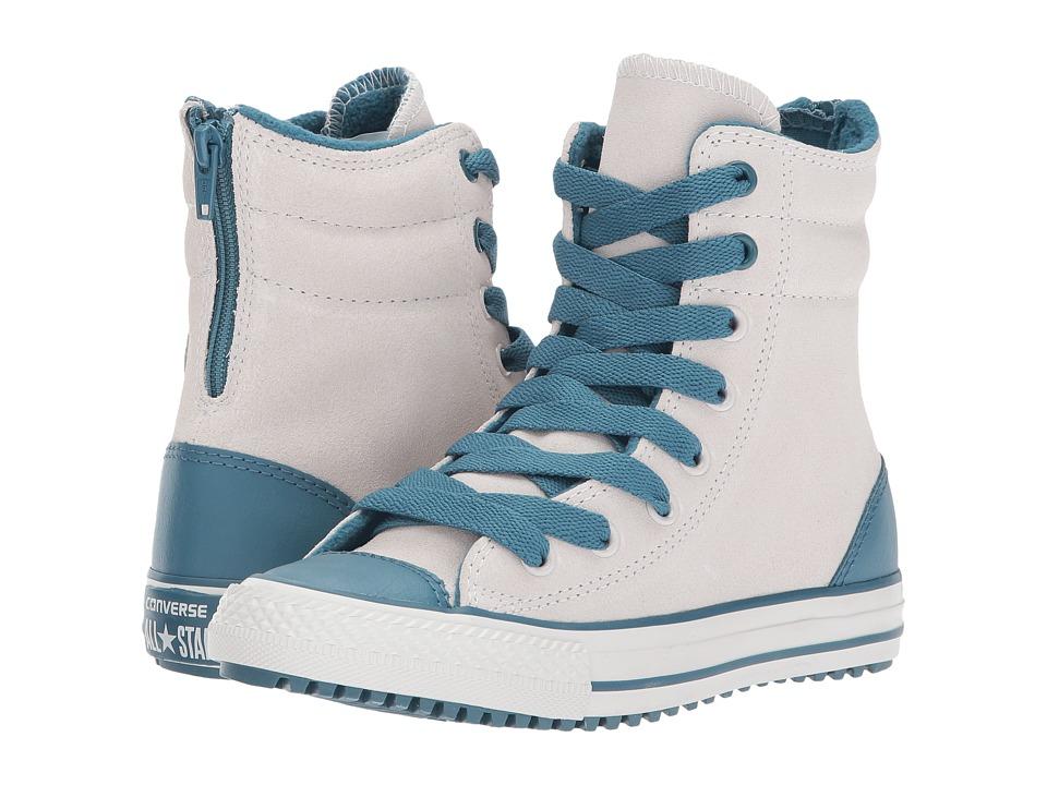 Converse Kids Chuck Taylor All Star X Hi-Rise Boot (Little Kid/Big Kid) (Pale Putt/Teal/Pale Putty) Girl