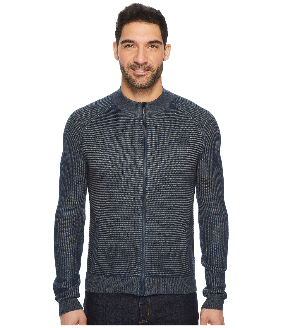 Ecoths Sayer Sweater (Vintage Indigo) Men