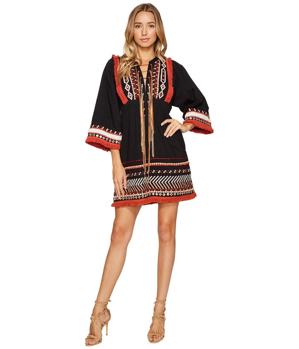 Rachel Zoe - Bianca Dress (Black/Ecru) Women's Clothing