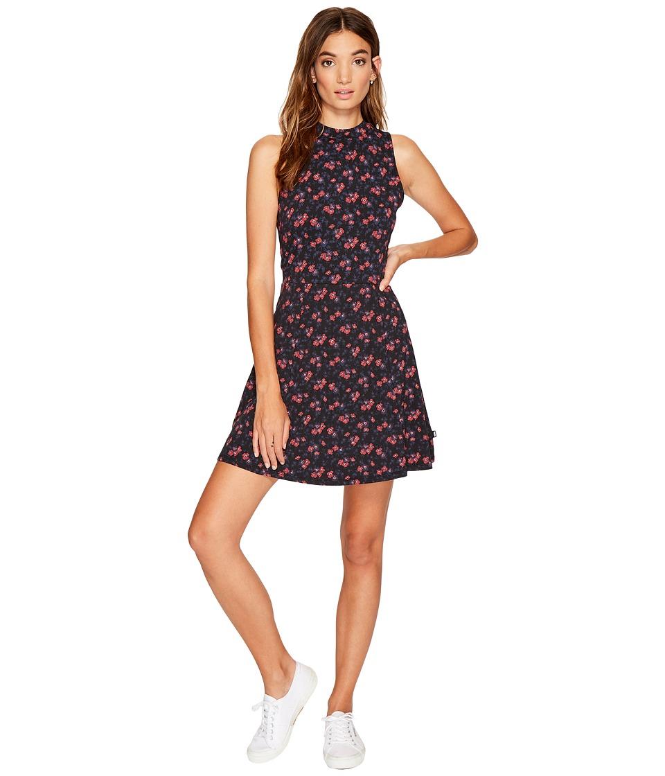 Vans Tizzy Dress (Black Ditsy Blooms) Women
