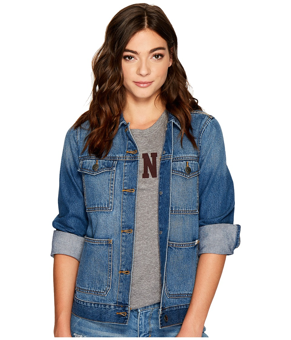 Vans - Long Haul Jacket (Vintage Indigo) Women's Coat