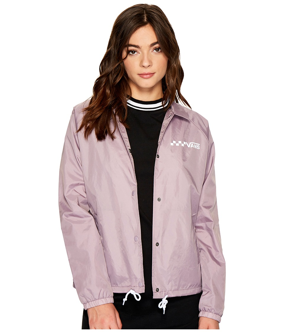 Vans - Thanks Coach Jacket (Sea Fog) Women's Coat