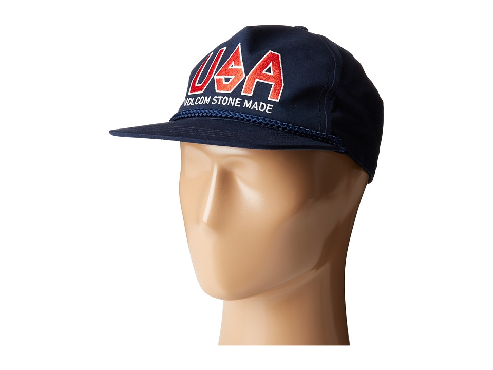 Volcom - Stonation Cap (Navy) Caps
