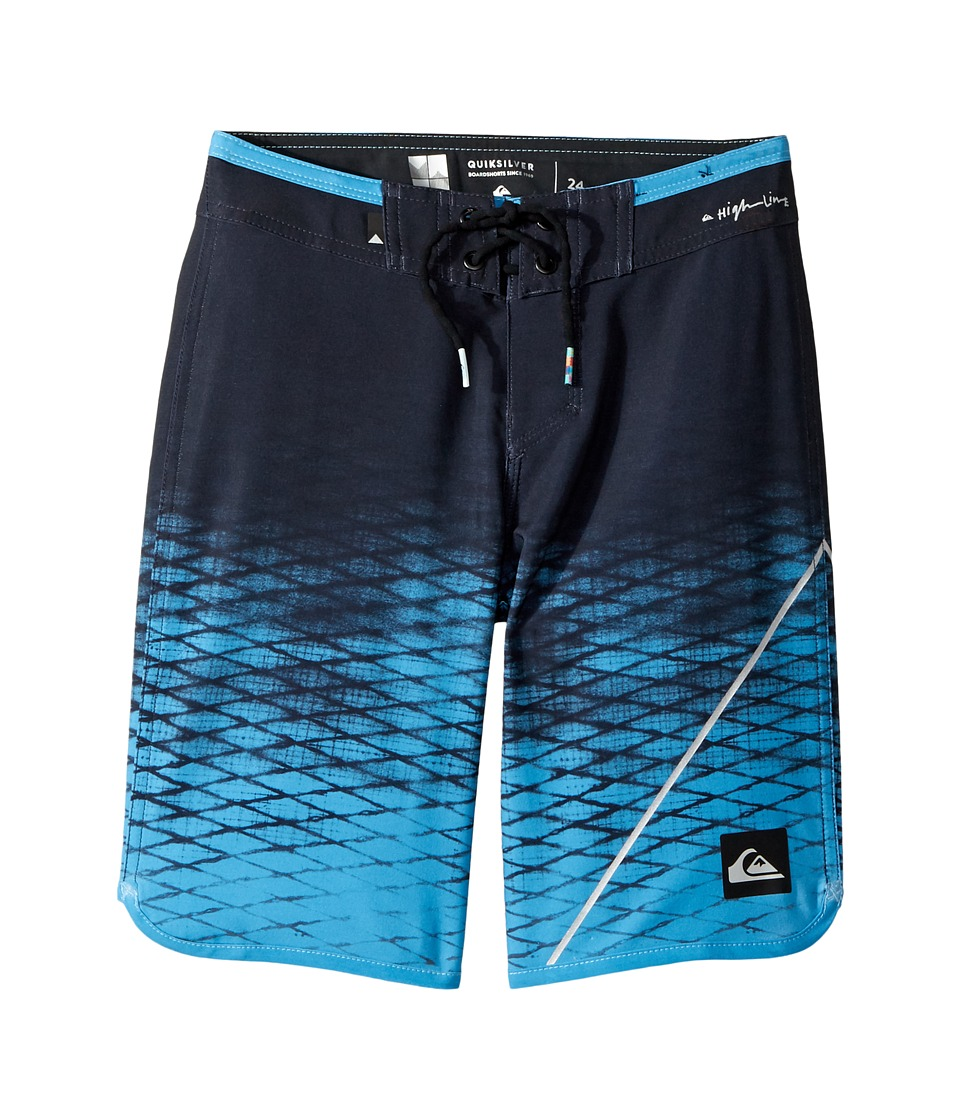 Quiksilver Kids New Wave Boardshorts (Big Kids) (Tarmac) Boy
