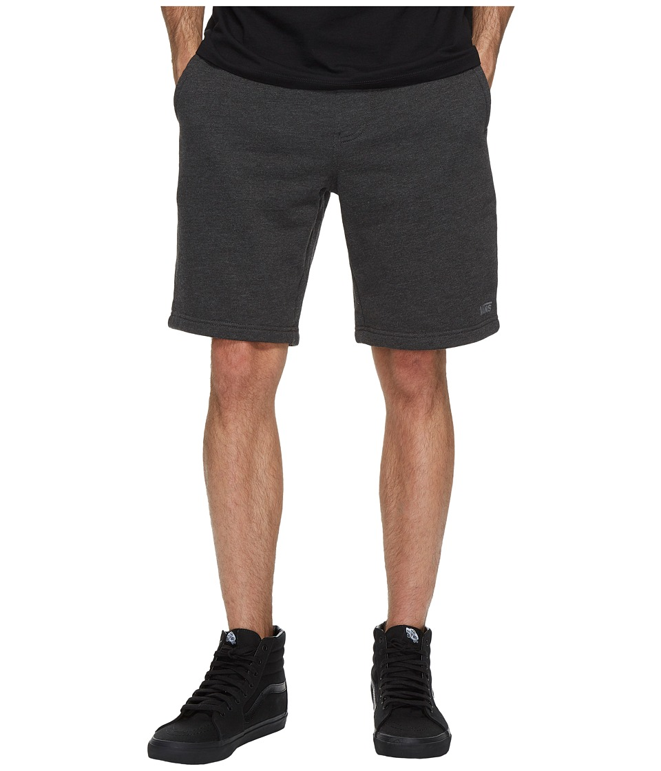 Vans - Core Basic Fleece Shorts 20 (Black Heather) Men's Shorts