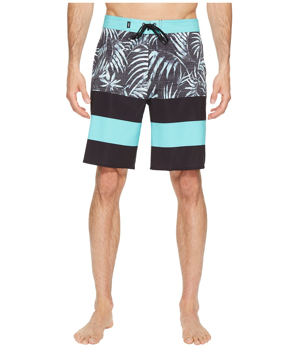 Vans - Era Stretch Boardshorts 20 (Black Water Palm) Men's Swimwear
