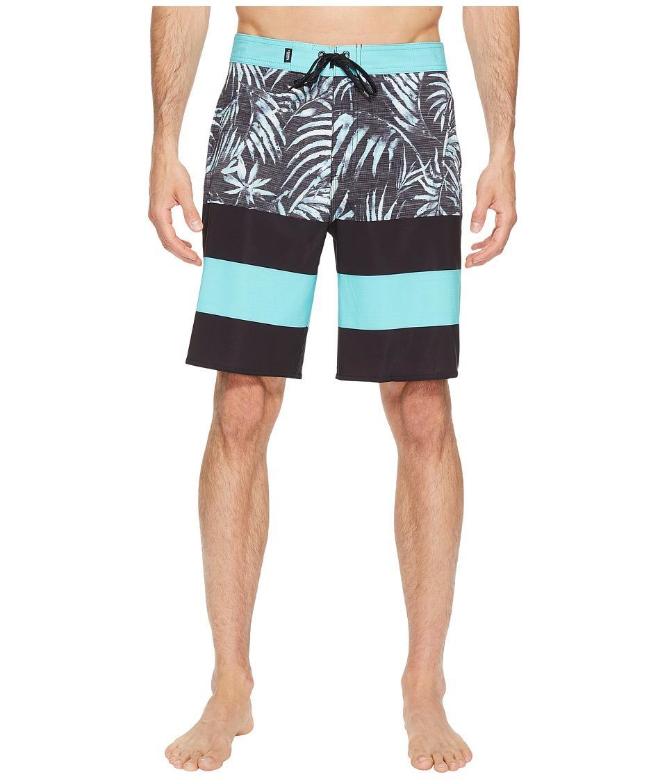Vans - Era Stretch Boardshorts 20 (Black Water Palm) Men's Swimwear
