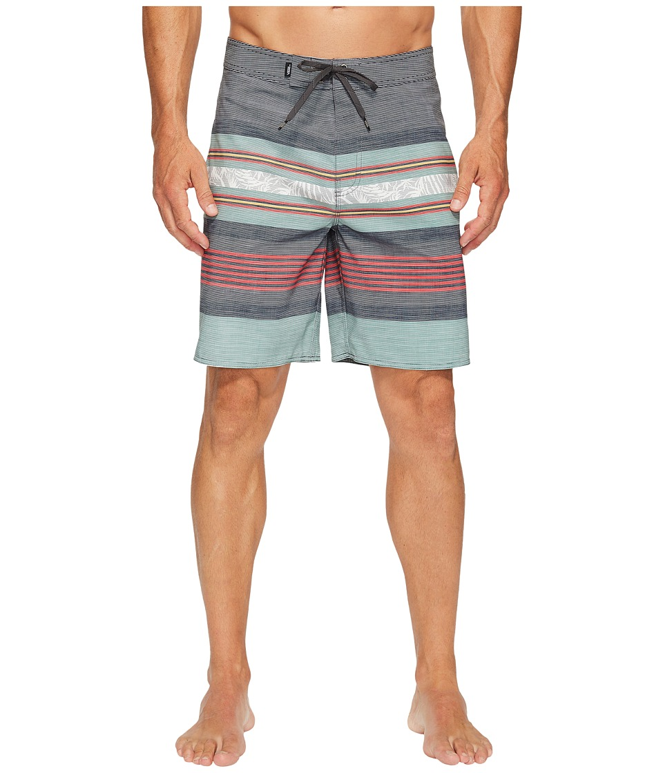 Vans - Academy Boardshorts 19 (Asphalt) Men's Swimwear