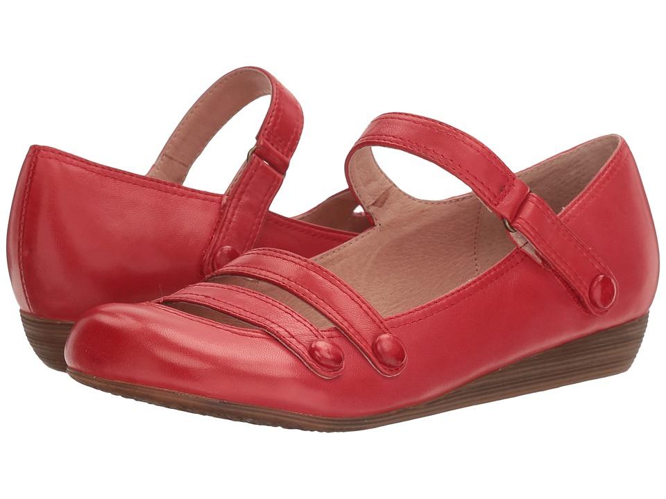 Miz Mooz - Demi (Red) Women's Maryjane Shoes