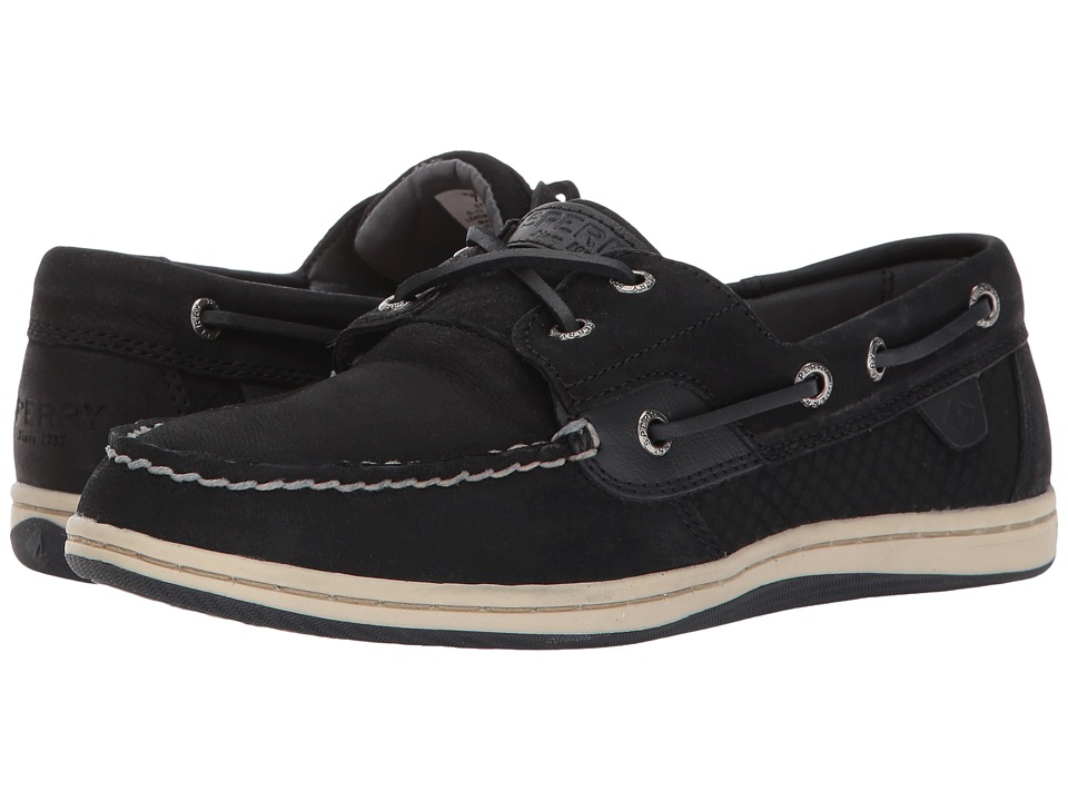 Sperry Koifish Etched (Black) Women