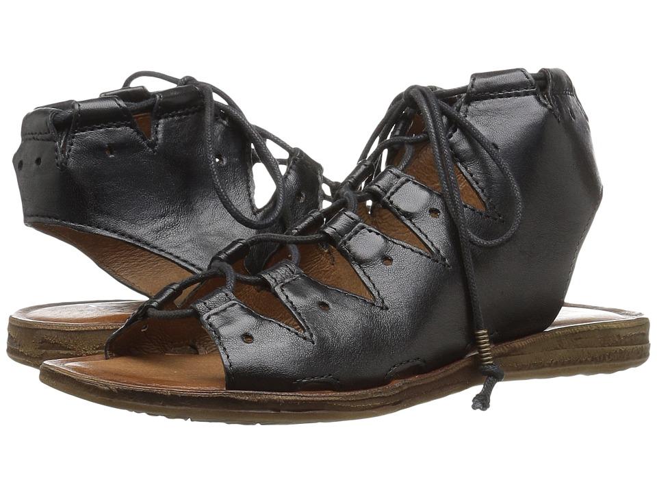 Miz Mooz - Fauna (Black) Women's Sandals