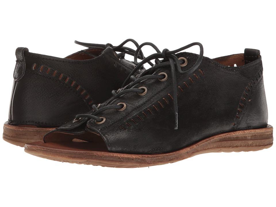 Miz Mooz - Francesca (Black) Women's Sandals
