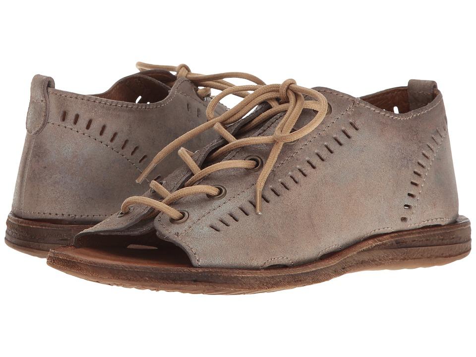 Miz Mooz - Francesca (Pewter) Women's Sandals