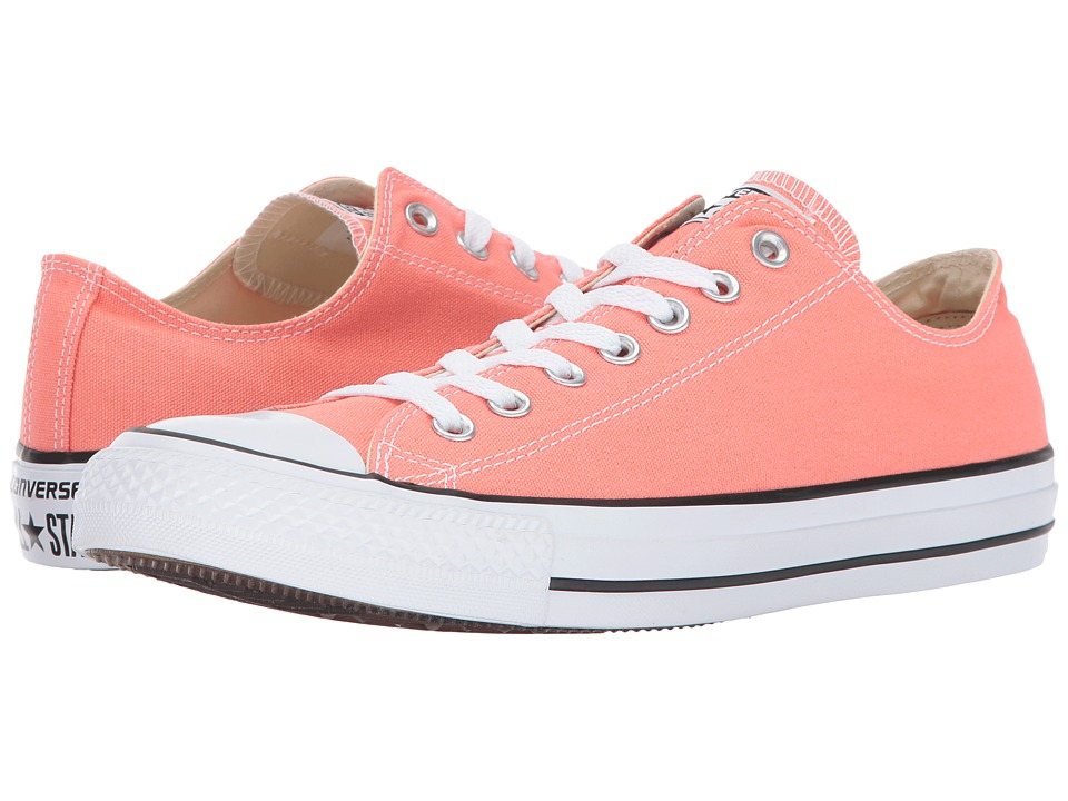 Converse Chuck Taylor All Star Seasonal Ox (Sunblush) Athletic Shoes