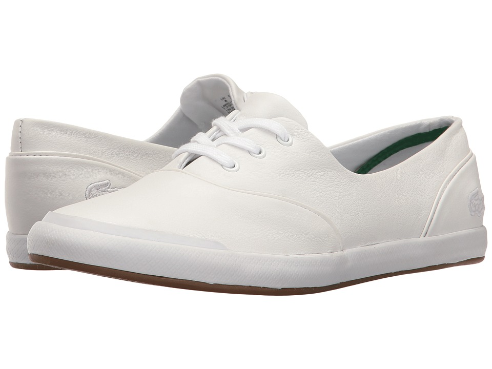 Lacoste - Lancelle Lace 3-Eye 116 1 (White) Women's Shoes