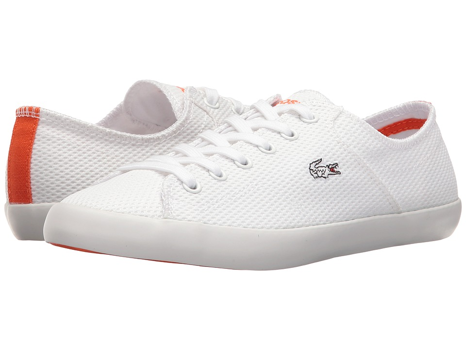 Lacoste - Ramer 216 1 (White/Orange) Women's Shoes