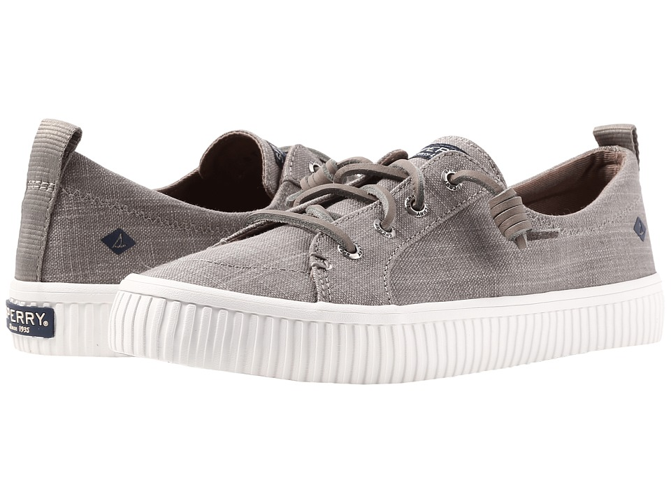 Sperry Crest Vibe Creeper Scratch Linen (Taupe) Women