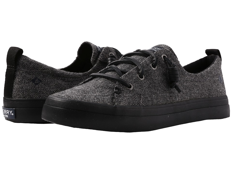 Sperry Crest Vibe Tweed (Dark Grey) Women