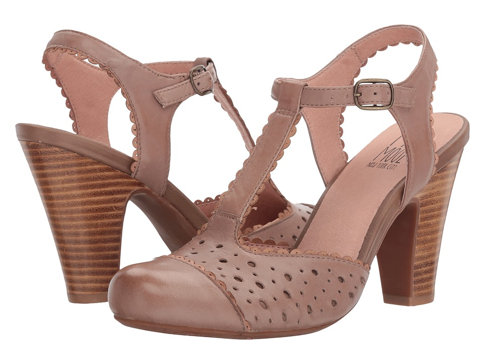 Miz Mooz - Nico (Stone) Women's 1-2 inch heel Shoes