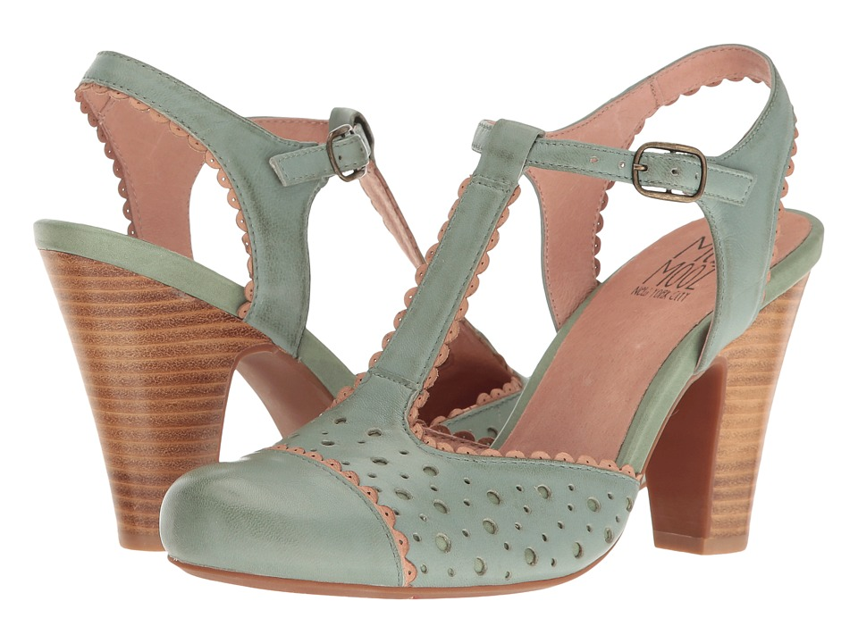 Miz Mooz - Nico (Sage) Women's 1-2 inch heel Shoes