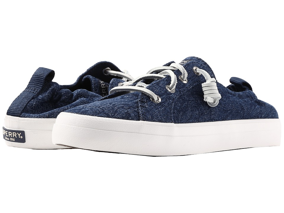 Sperry - Crest Ebb Print (Navy/Floral Denim) Women's Shoes