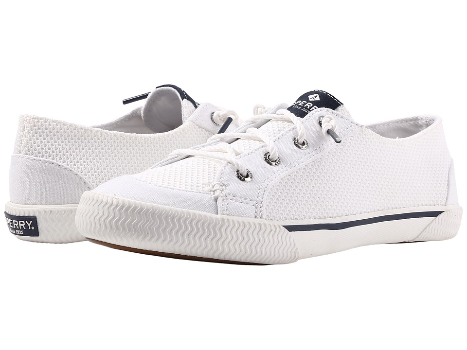 Sperry - Quest Reel Mesh (White) Women's Lace up casual Shoes