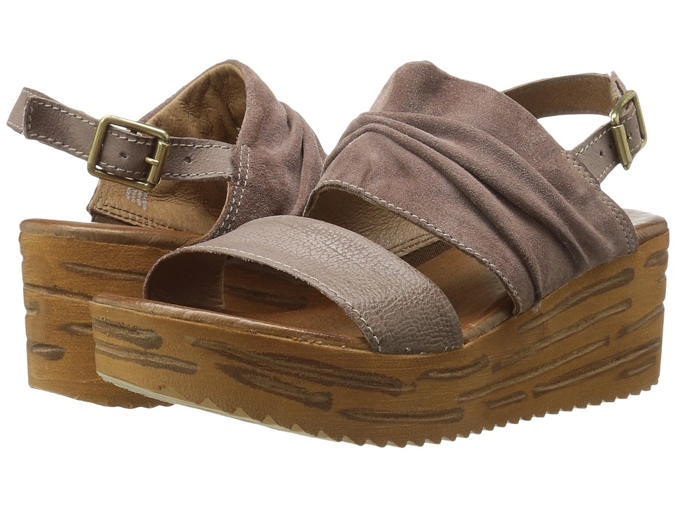 Miz Mooz - Zelda (Mauve) Women's Wedge Shoes