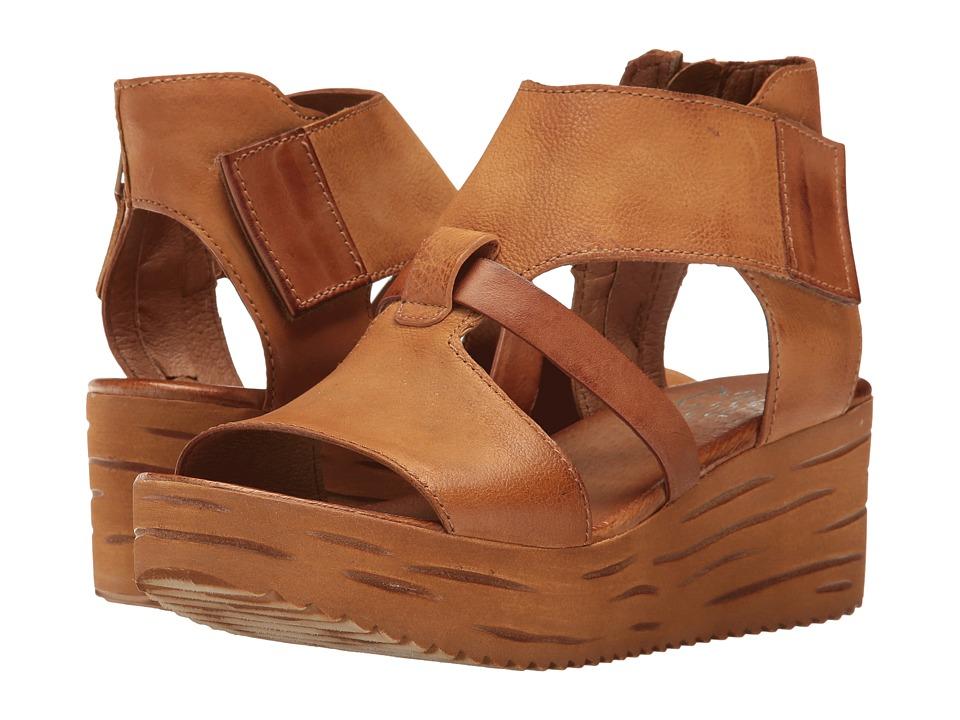 Miz Mooz - Zenon (Wheat) Women's Wedge Shoes