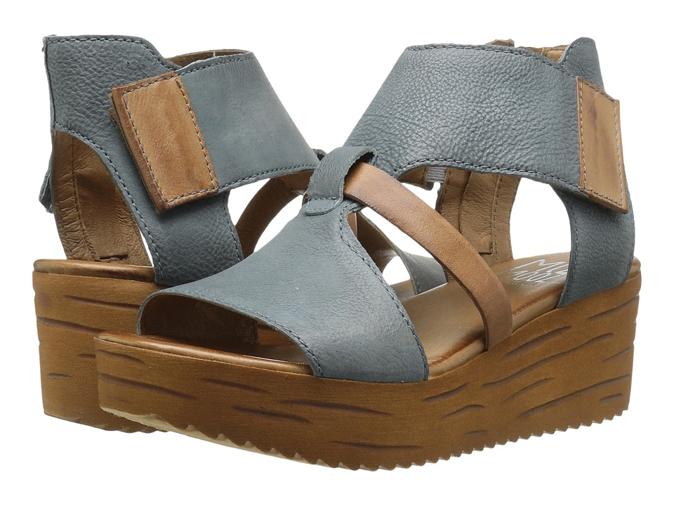 Miz Mooz - Zenon (Sky) Women's Wedge Shoes