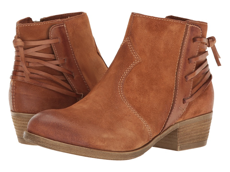 Miz Mooz - Brady (Whiskey) Women's Zip Boots
