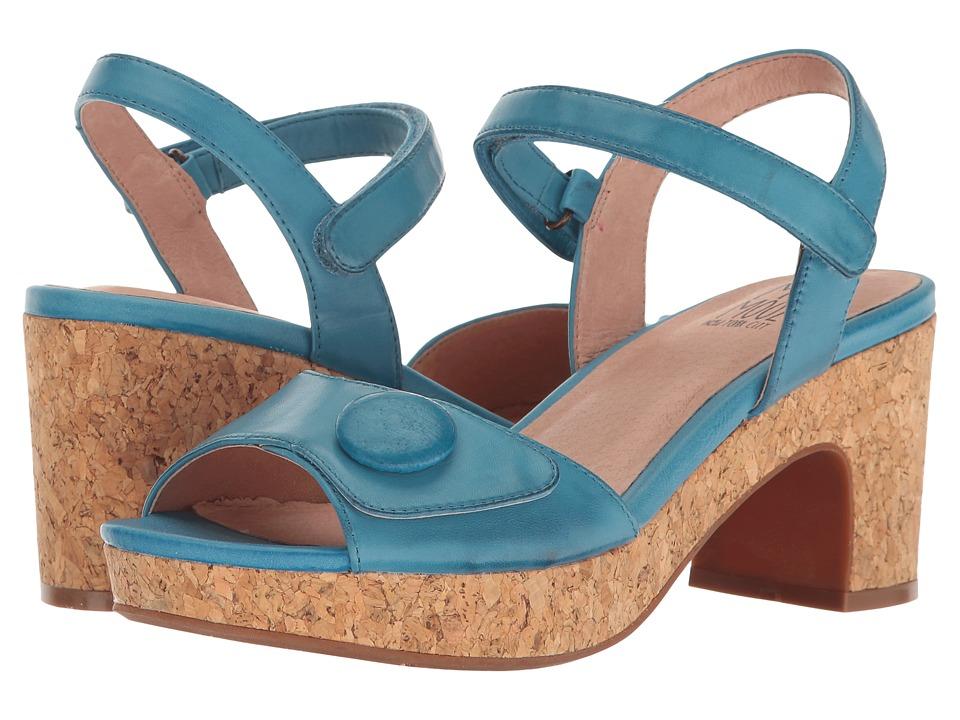 Miz Mooz Cookie (Blue) High Heels