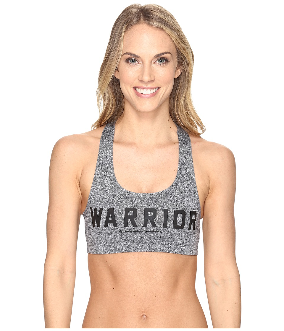 Spiritual Gangster - Warrior Athletic (Heather Grey) Women's Workout