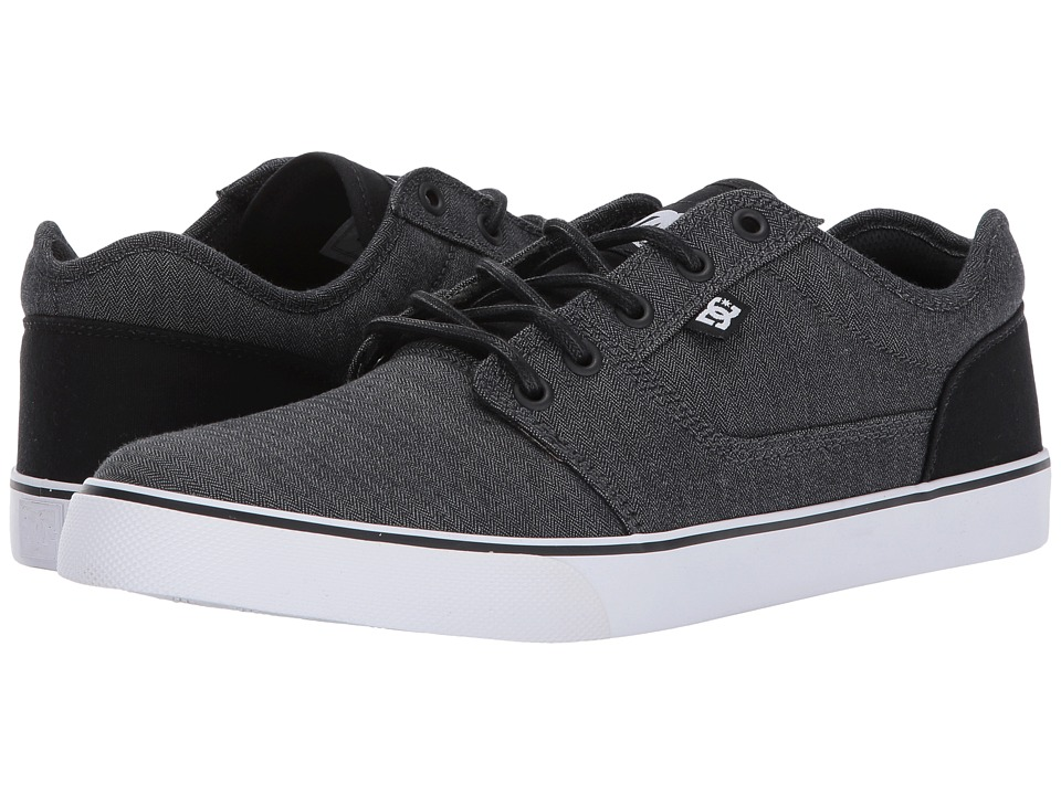 DC - Tonik TX SE (Black/Dark Grey/White) Men's Skate Shoes