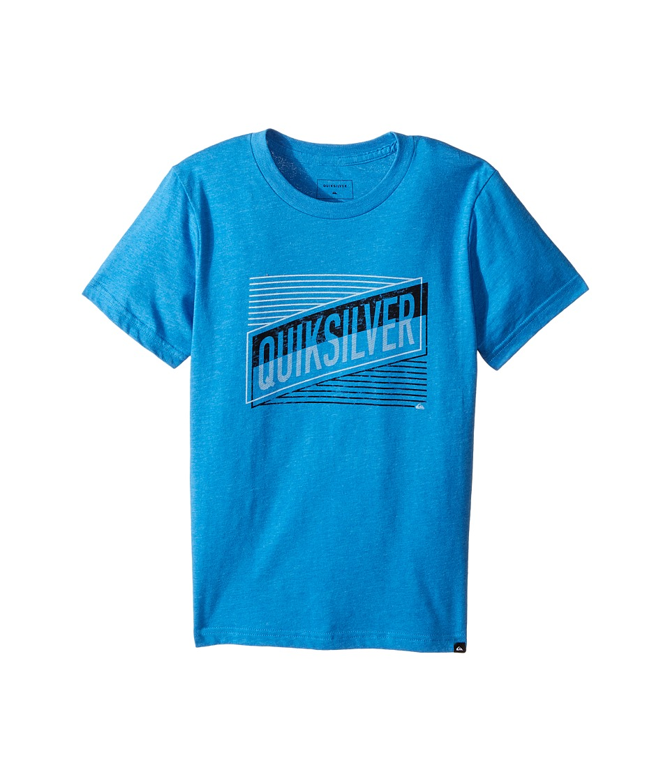 Quiksilver Kids - Port Roca Tee (Big Kids) (Turkish Sea Heather) Boy's T Shirt