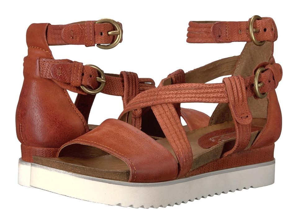 Miz Mooz - Paola (Rust) Women's Sandals