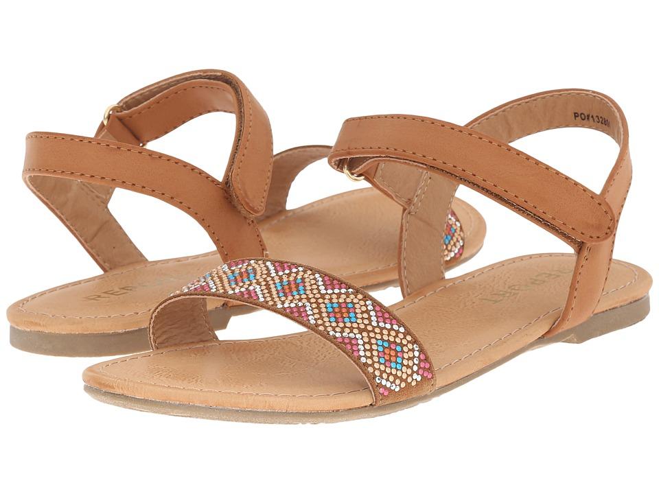 Report Kids - Cornish (Little Kid/Big Kid) (Tan) Girl's Shoes