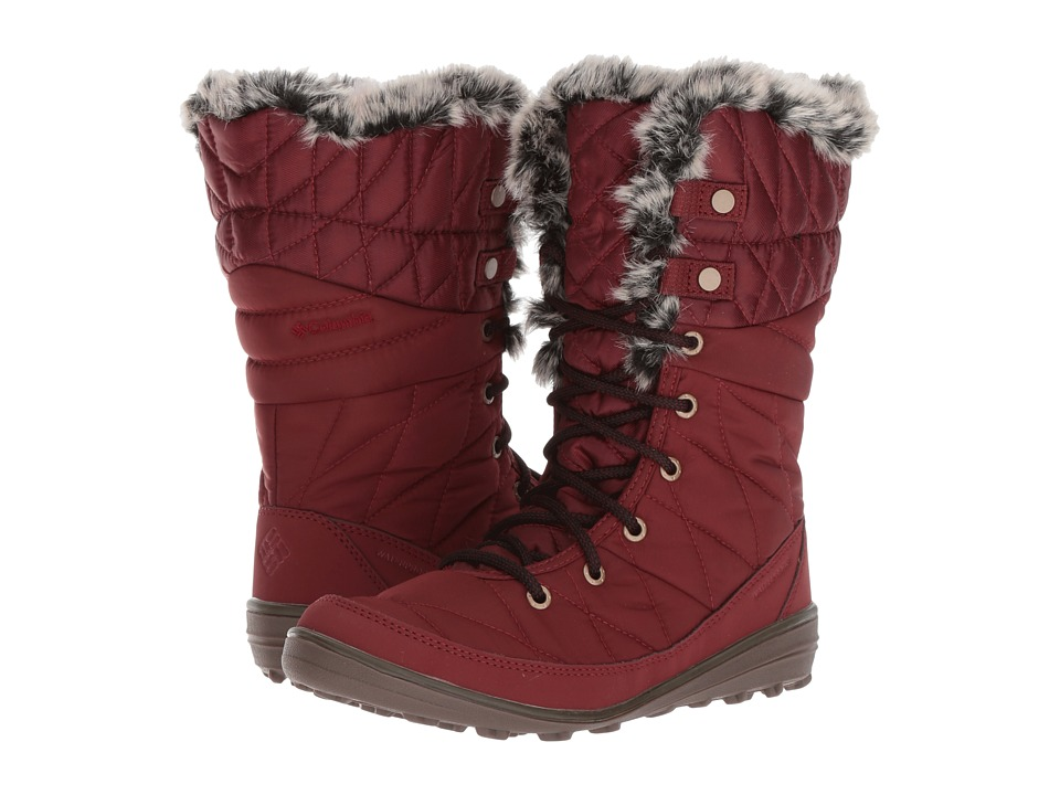 Columbia Heavenly Organza II Omni-Heat (Deep Rust/Red Element) Women