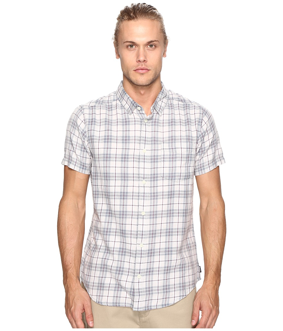RVCA - Sid Short Sleeve Woven (Mirage) Men's Clothing